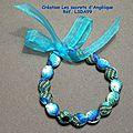 <b>bracelet</b> <b>liberty</b> femme <b>bleu</b> turquoise