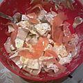 Salade d'endives au saumon (allégée)