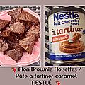 Joli mois de mars 💐 mon brownie nestlé pâte a tartiner.. et mes bons plans 🍪