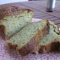Cake courgettes & pesto
