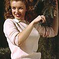 Norma jeane baker, alias marilyn monroe, en 1945, par andre de dienes