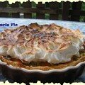 La tarte à la rhubarbe de chris