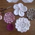 fleurs au crochet 1
