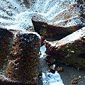Moelleux pistache framboise
