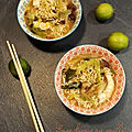 Soupe chinoise miso