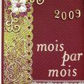 2009 - Mois par mois