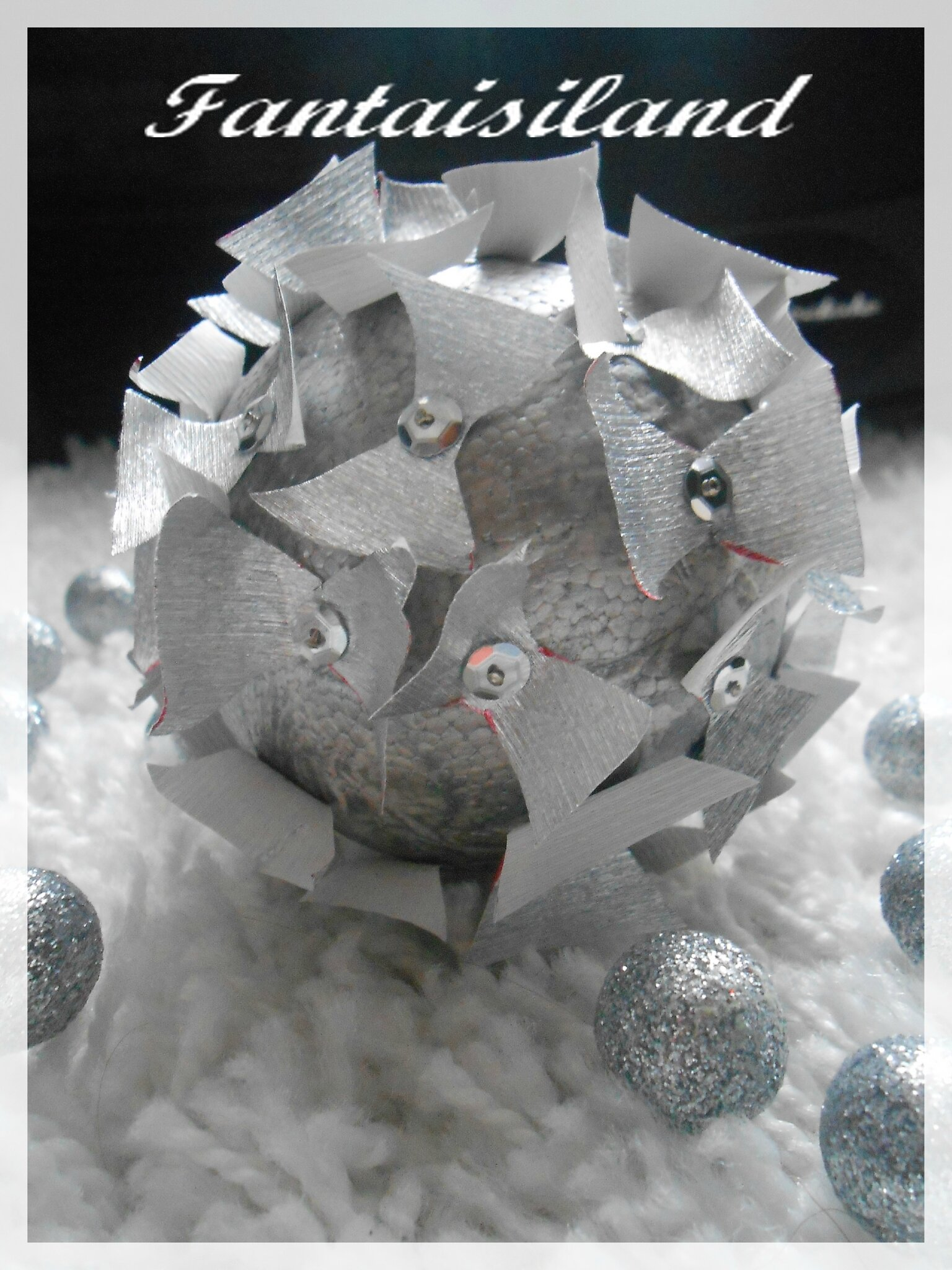 """Boules de Noël """"Papillons"""" !"""