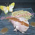Rôti de porc sauce clémentines