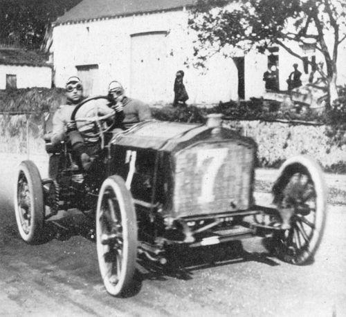 1906 circuit des ardennes - arthur duray (lorraine-dietrich) 1st 1