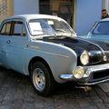 La renault ondine gordini de 1962 (1961-1962)(3ème rencontre de voitures anciennes à benfeld 2010)