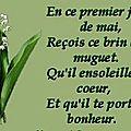 le <b>muguet</b> du 1er mai