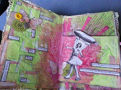 Art Journal En Vacances 11