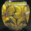 Vase - Tourbillon jaune