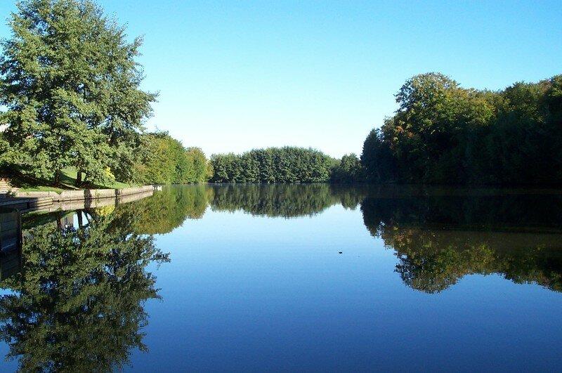 Vue du 2ème étang