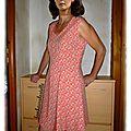 Robe butterick 6448