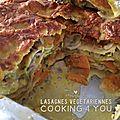 Lasagnes végétarienne