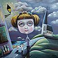Peinture : nouvelle toile, maritime et onirique !