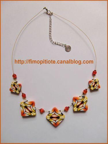 Bijoux pate fimo collier bracelet boucles d oreilles (99)