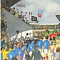 Collection ... Affiche UN MATCH DE <b>FOOTBALL</b> / TRAVAUX d'AUTOMNE