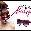 Lunettes solaires lolita - collection nostalgia - lolita lempicka