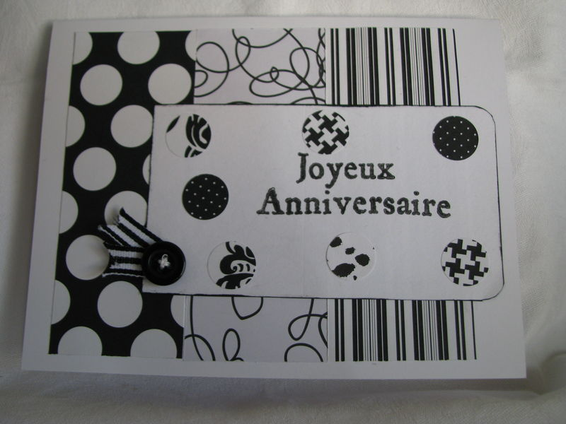 carte anniversaire 2010