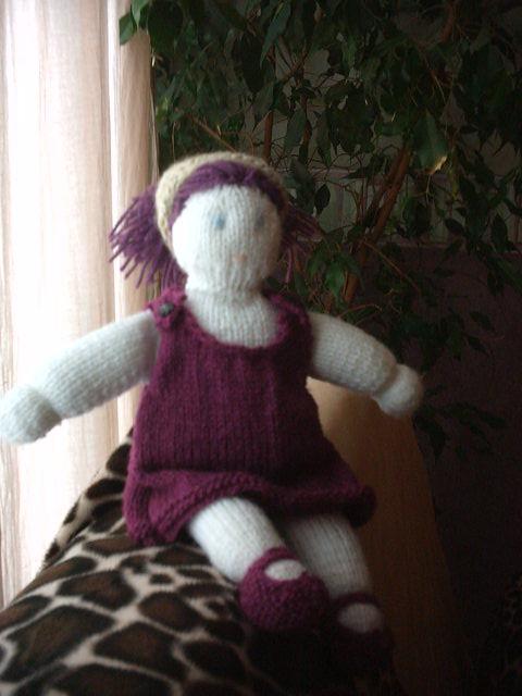 Ma poupée de laine habillée (3)