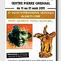 Salon international artistique de haute-loire, france