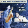 Gene Harris Scott Hamilton Quintet - 1990 - At Last (Concord Jazz)