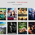 L'<b>appli</b> Android PlayVOD : pleins de films et de séries à voir