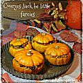 Courges jack little be farçie