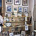 Nouveautés à la Boutique <b>KréAtiv</b> à <b>Annecy</b>, Sculptures et peintures du lac d'<b>Annecy</b>