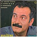 La Guerre de 14-18 - Georges Brassens (1962) + Question de temps (1978)