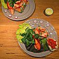 Médaillons de homard à la parisienne