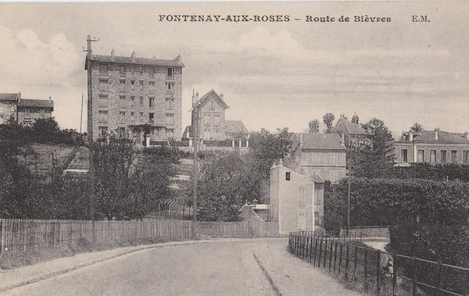 FONTENAY-AUX-ROSES Route de Bièvres