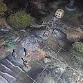 Préparation d'un jeu solo sur plateau avec des figurines <b>15mm</b>