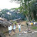 Visite de la communauté indienne de l'île