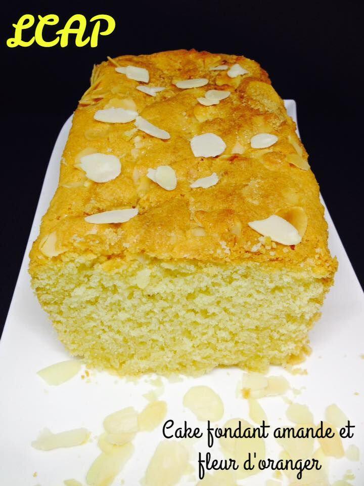 Cake fondant Amande et Fleur d'oranger
