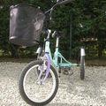 Un vélo pour votre enfant .....Une poussette canne..