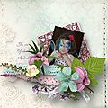 Kit shabby flowers de angélique scrap