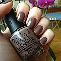 Opi - over the taupe