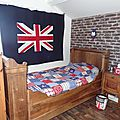 Une chambre so british...