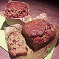 Cake <b>courgettes</b> saveurs indiennes