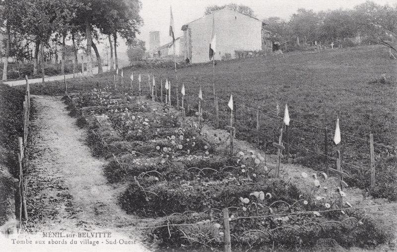 cimetière militaire sud-ouest Ménil (1)