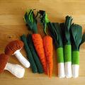 legumes feutrine