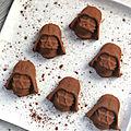 Truffes chocolat/café vegan {sans lait/plv, sans beurre, sans gluten}
