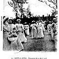 SAINS DU NORD-Processionn 15 Août 1908