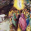 Le Mois de Marie de Notre-Dame de <b>Lourdes</b>