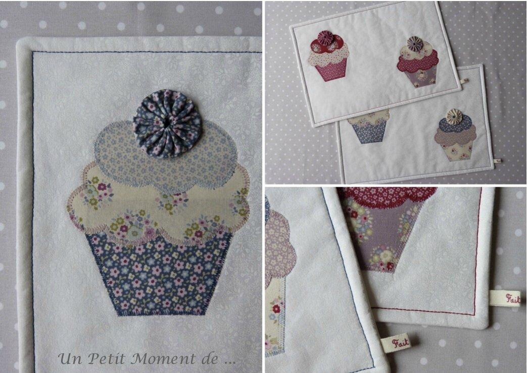 Ensemble de sets cupcakes 7