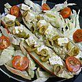 Patates douces à la feta et aux olives