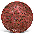 600-year-old rare lacquer dish leads sotheby's chinese art sales in london